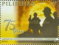 [The 75th Anniversary (2011) of the Lepanto Consolidated Mining Corporation, Typ JGW]