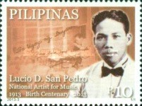 [The 100th Anniversary of the Birth of Lucio D. San Pedro, 1913-2002, Typ JHM]