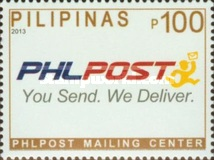 [Phlpost Mailing Center Stamps, Typ JIO]