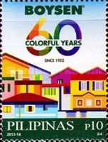 [The 60th Anniversary of the Pacific Paint (Boysen) Philippines, Inc., Typ JJG]