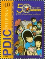 [The 50th Anniversary of the PDIC - Philippine Deposit Insurance Corporation, Typ JKG]