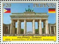 [The 60th Anniversary of Diplomatic Relations with Germany, Typ JMH]