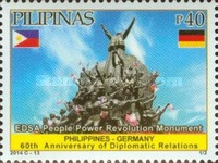 [The 60th Anniversary of Diplomatic Relations with Germany, Typ JMI]