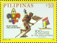 [The 100th Anniversary of Scouting in the Philippines, Typ JNB]