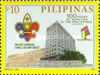 [The 100th Anniversary of Scouting in the Philippines, Typ JNC]