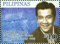 [The 100th Anniversary of the Birth of Manuel Conde, 1915-1985, Typ JSV]