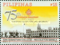 [The 75th Anniversary of the San Sebastian College, Typ JUE]