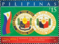 [The 100th Anniversary of the Senate of the Philippines, Typ JUF]