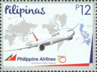 [The 75th Anniversary of the PAL - Philippine Airlines, Typ JWJ]