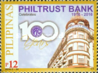 [The 100th Anniversary of the Philtrust Bank, Typ JWK]