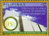 [The 50th Anniversary of the National College of Business and Arts, Typ JXT]