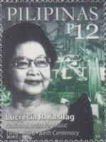 [The 100th Anniversary of the Birth of Lucrecia Roces Kasilag, 1918-2008, Typ KDS]