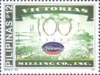 [The 100th Anniversary of the Victorias Milling Company, Typ KFT]