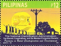 [The 50th Anniversary of the NEA - National Electrification Administration, type KGF]