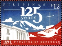 [The 125th Anniversary of the Province of Sorsogon, type KGU]