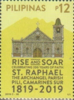 [The 200th Anniversary of the St. Raphael, The Archangel Parish, Typ KGX]