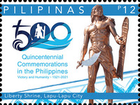 [The 500th Anniversary of the Battle of Mactan, type KKZ]