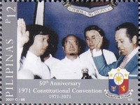 [The 50th Aniversary of the 1971 Constitutional Convention, type KLL]
