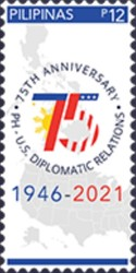 [The 75th Anniversary of Diplomatic Relations with the United States, type KLO]