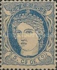 [Queen Isabella II - Value in Centimos de Escudo, type M]