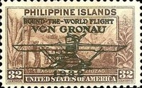[Airmail - Issues of 1932 Overprinted with Dornier Do-J flying Boat
