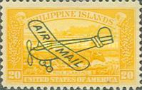 [Airmail - Stamps of 1906 Overprinted