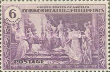 [Inauguration of Commonwealth of the Philippines, Typ NR]