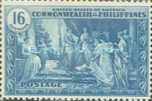 [Inauguration of Commonwealth of the Philippines, Typ NS]
