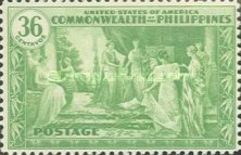 [Inauguration of Commonwealth of the Philippines, Typ NT]
