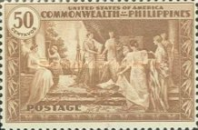 [Inauguration of Commonwealth of the Philippines, type NU]