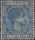 [King Alfonso XII - Value in Cents de Peso, Typ P1]