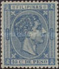 [King Alfonso XII - Value in Cents de Peso, Typ P3]