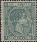 [King Alfonso XII - Value in Cents de Peso, type P6]