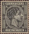 [King Alfonso XII - Value in Milesimos de Peso, type R1]