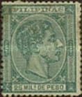 [King Alfonso XII - Value in Milesimos de Peso, type R2]