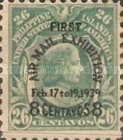 [Airmail - The 1st Manila Airmail Exhibition - Overprinted