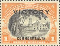 "[Victory Issue - Issues of 1936 and 1937 Overprinted ""VICTORY"", type SH]"