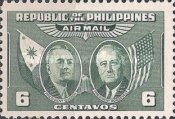 [Airmail - Presidents Quezon and Roosevelt, Typ SX1]