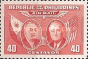 [Airmail - Presidents Quezon and Roosevelt, Typ SX2]