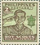 [The 25th Anniversary of Philippine Boy Scouts, Typ TE1]