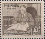 [The 25th Anniversary of Philatelic Association, type TN1]
