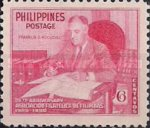 [The 25th Anniversary of Philatelic Association, type TN2]