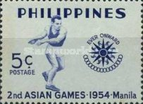 [The 2nd Asian Games - Manila, Philippines, type VI]