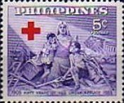 [The 50th Anniversary of Philippines Red Cross, Typ VV1]
