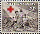 [The 50th Anniversary of Philippines Red Cross, Typ VV2]