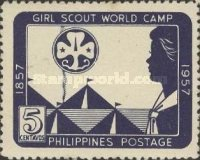 [Girl Guides' Pacific World Camp, Quezon City, and the 100th Anniversary of the Birth of Lord Baden-Powell, Typ WC]