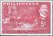 [The 100th Anniversary of the Birth of Juan Luna (Painter), 1857-1899, Typ WF]