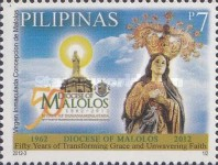 [The 50th Anniversray of the Diocese of Malolos, Typ XEJ]