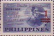 [Issues of 1950, 1954 and 1955 Surcharged, type XR]