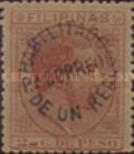 [King Alfonso XII Issue of 1880 Surcharged & Overprinted